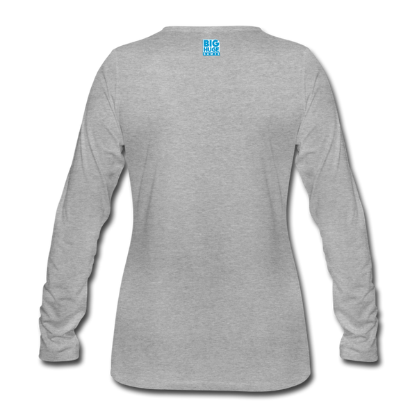 Women's Arcane Showdown Logo Long Sleeve T-Shirt - heather gray