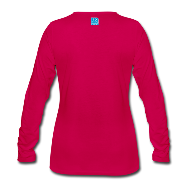Women's Arcane Showdown Logo Long Sleeve T-Shirt - dark pink