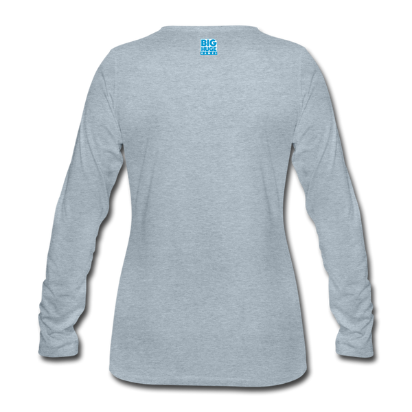 Women's Arcane Showdown Logo Long Sleeve T-Shirt - heather ice blue