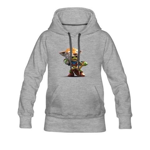 Women's Arcane Showdown Goblin Hoodie - heather gray