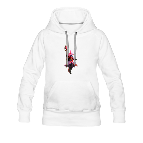 Women's Arcane Showdown Red Mage Hoodie - white