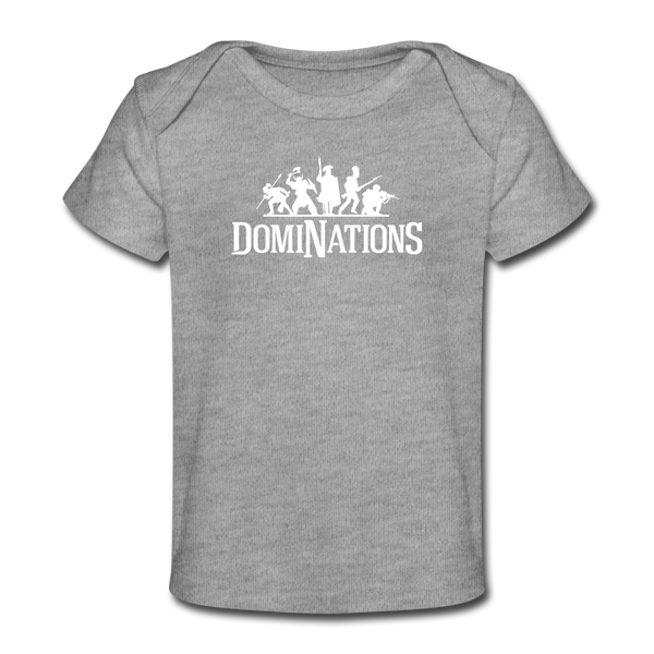 Baby DomiNations T-Shirt - heather gray