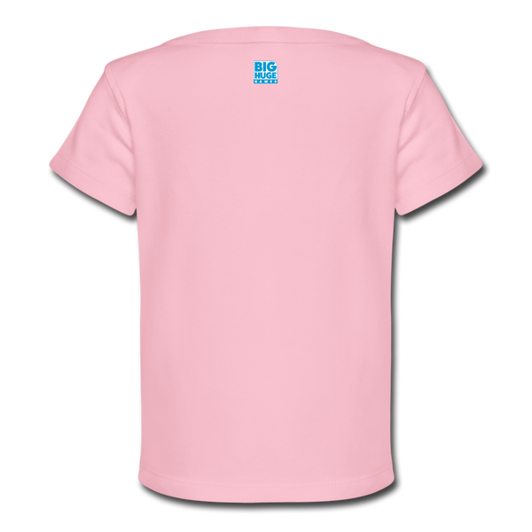 Baby DomiNations Logo T-Shirt - light pink