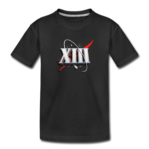 Kid's DomiNations Space Age T-Shirt - black