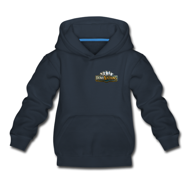 Kids' DomiNations Small Logo Hoodie - navy