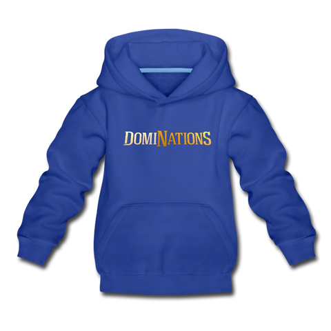 Kids' DomiNations Hoodie - royal blue