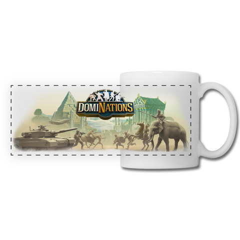 DomiNations Battle Classic Mug - white