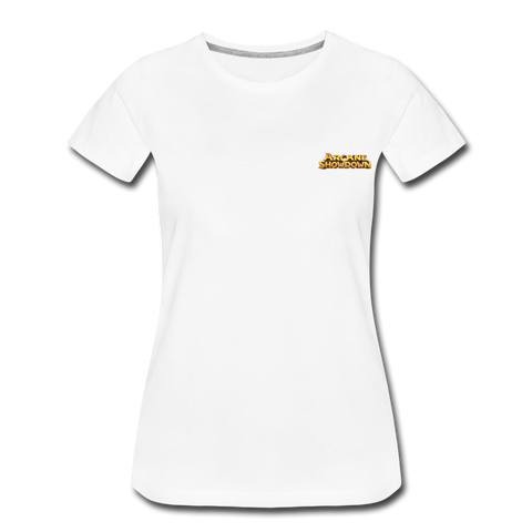 Women's Arcane Showdown Small Logo T-Shirt - white