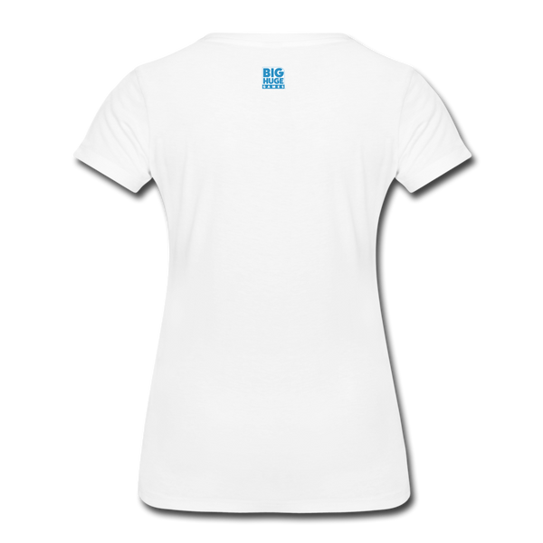 Women's Arcane Showdown Big Logo T-Shirt - white