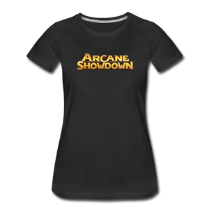 Women's Arcane Showdown Big Logo T-Shirt - black
