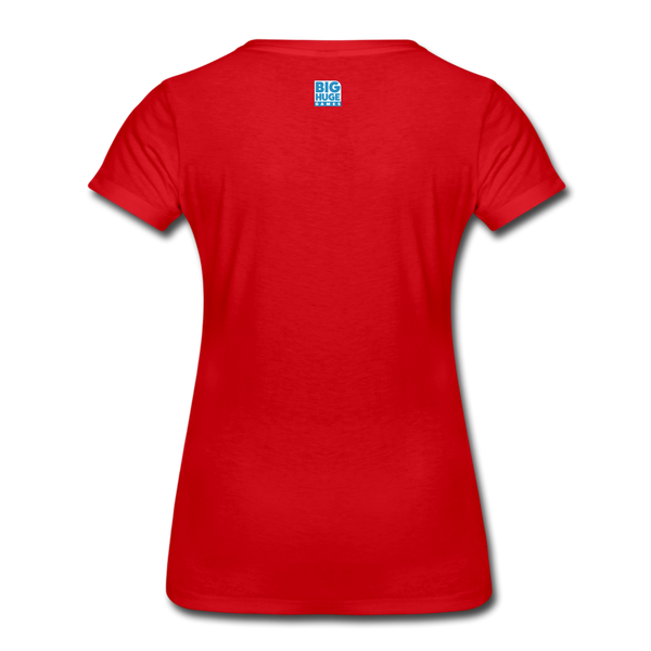 Women's Arcane Showdown Big Logo T-Shirt - red