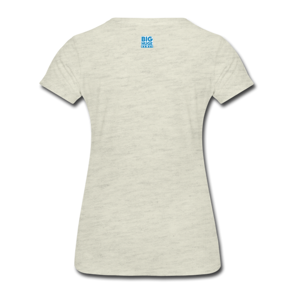 Women's Arcane Showdown Big Logo T-Shirt - heather oatmeal