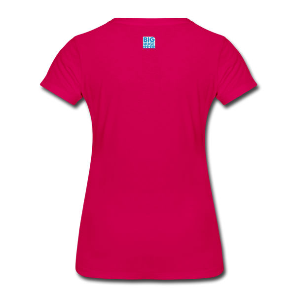 Women's Arcane Showdown Big Logo T-Shirt - dark pink