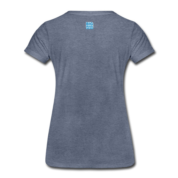 Women's Arcane Showdown Big Logo T-Shirt - heather blue