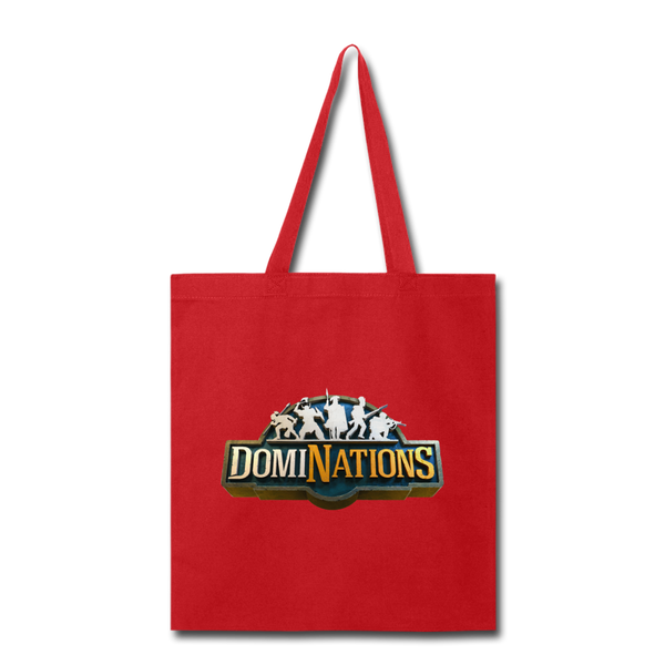 DomiNations Tote Bag - red