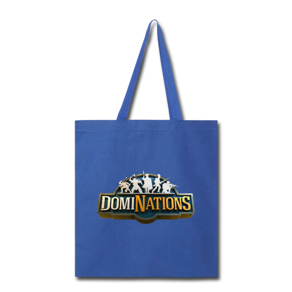 DomiNations Tote Bag - royal blue