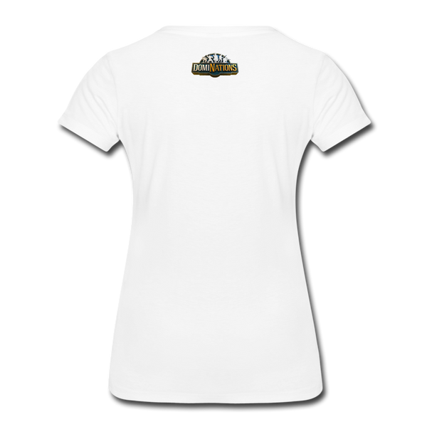 Women's DomiNations Radio T-Shirt - white