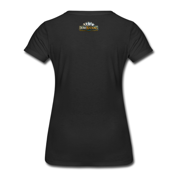 Women's DomiNations Radio T-Shirt - black