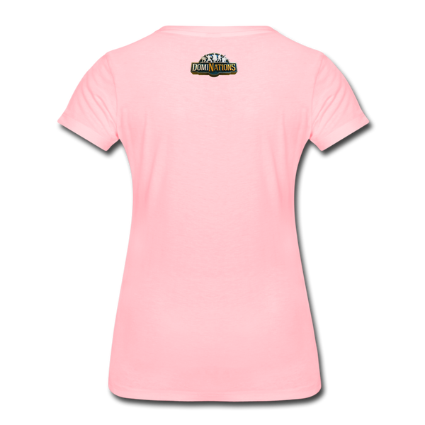 Women's DomiNations Radio T-Shirt - pink