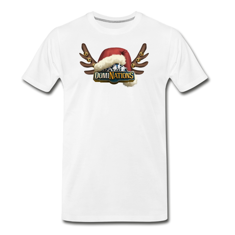 Men's DomiNations Holiday T-Shirt - white