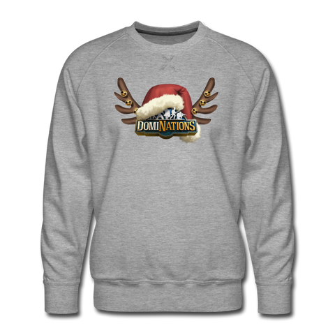 Men's DomiNations Holiday Crewneck Sweatshirt - heather gray