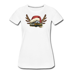 Women's DomiNations Holiday T-Shirt - white