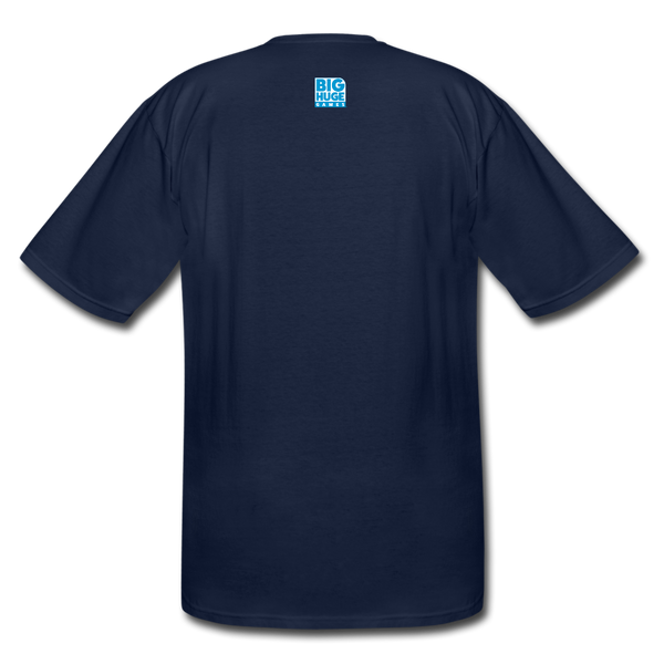 Men's Big and Tall 5 Star T-Shirt - navy