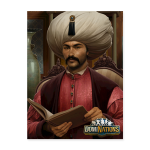 "Suleiman the Magnificent University Leader Poster - 18"" x 24"" - white"