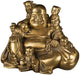 PNF Craft Laughing Buddha Sitting with 5 Children Statue