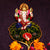 PNF Craft Metal Lord Ganesha On Leaf Idol