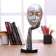 Welcome Lady Face Polyresin Idol Showpiece for Home Decor, for Outdoor Entrance Living Room, Office