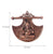 PNF Craft Lord Ganesha on Phanki Metal Wall Hanging