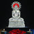 PNF Craft Lord Mahaveer Idol in White Metal