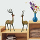 PNF Craft Antique Brass Deer Set Handicrafted with Beautiful  Unique Design Decorative Showpiece