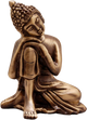 PNF Craft Lord Buddha Thainking Designer Statue Of Brass