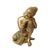 PNF Craft Gold Polyresin Buddha On Knee Polyresin Showpiece Idol