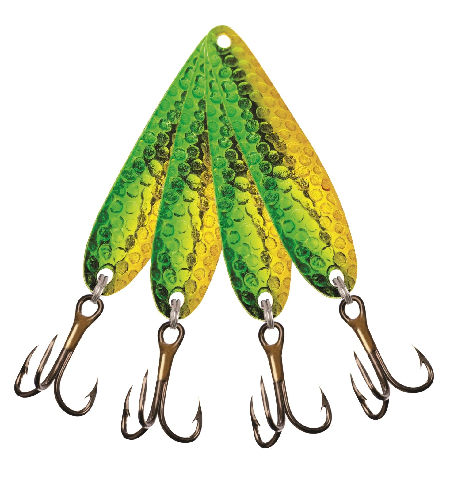 Drag-N Lures trolling spoons - Grandma's Pickle (4-pack)