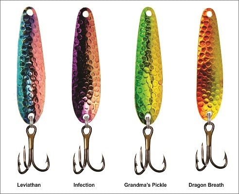 Drag-N Lures trolling spoon - Variety Pack