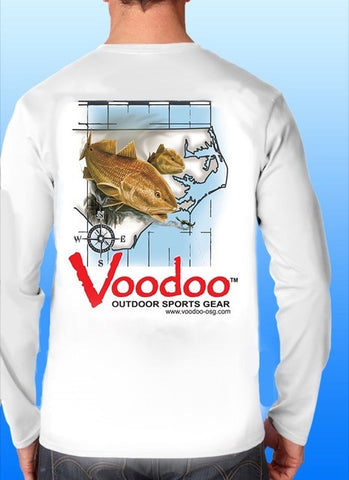 Voodoo Pro Jersey performance shirt (NC Map)