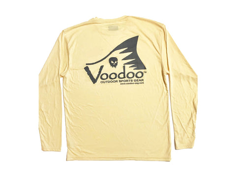 Voodoo Performance Shirt (yellow) long sleeve - Voodoo Tail