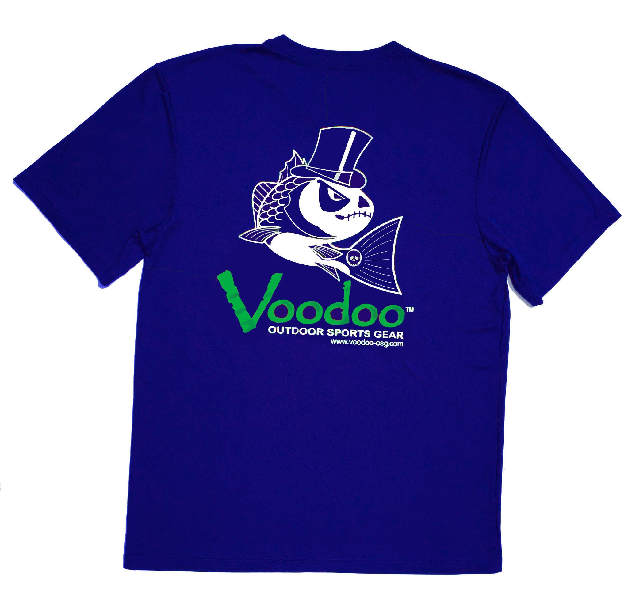 SALE  -  Voodoo Performance T-shirt (royal) short sleeve