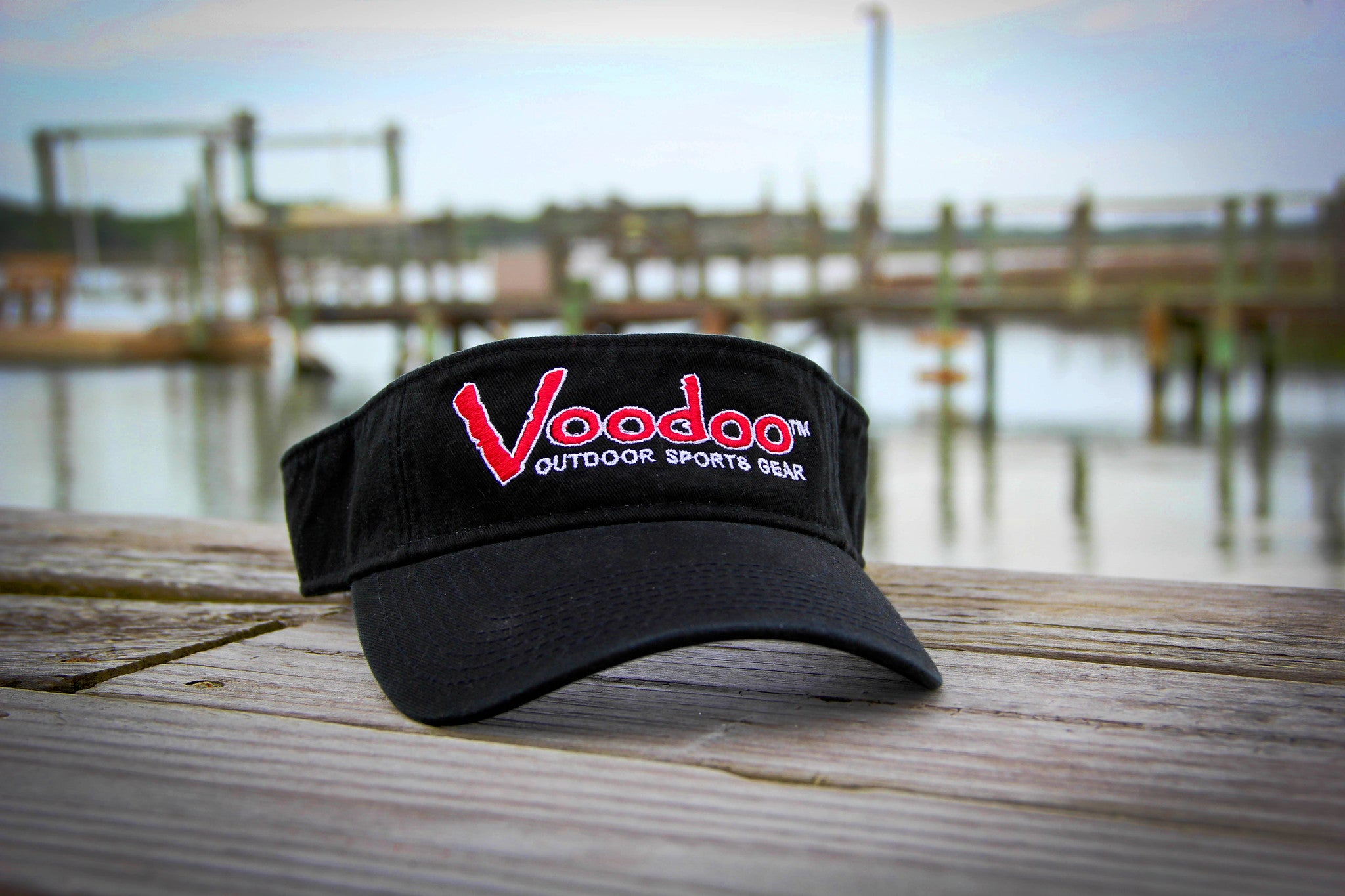 SALE  -  Voodoo Visor (black)