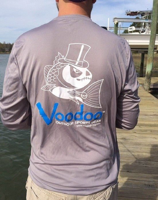SALE - Voodoo Performance T-shirt (gray) long sleeve
