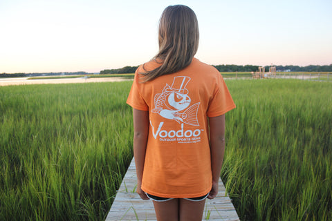 SALE  -  Voodoo T-Shirt (orange) short sleeve