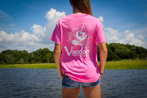 SALE  -  Voodoo T-Shirt (pink) short sleeve