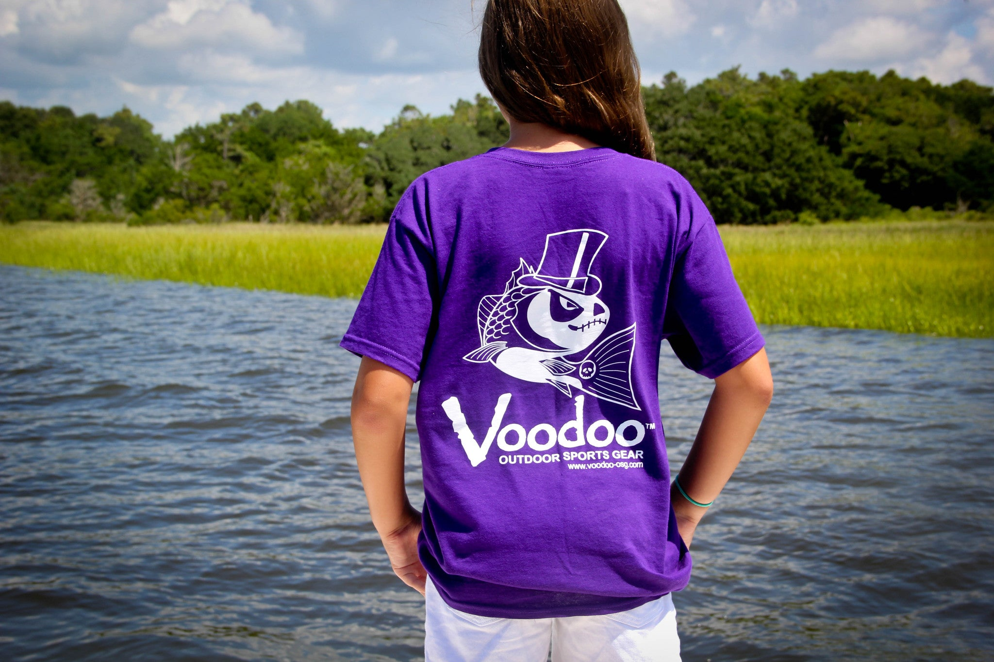 SALE  -  Voodoo T-Shirt (purple) short sleeve