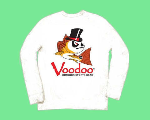 SALE  -  Voodoo T-Shirt (white) long sleeve