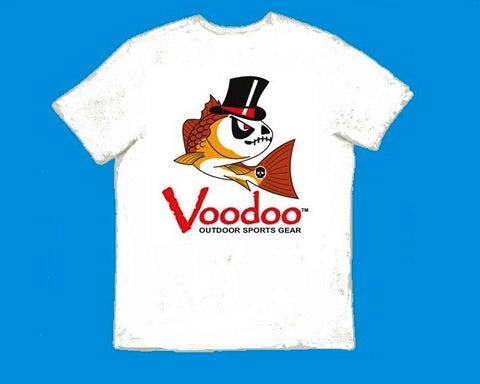 SALE  -  Voodoo T-Shirt (white) short sleeve
