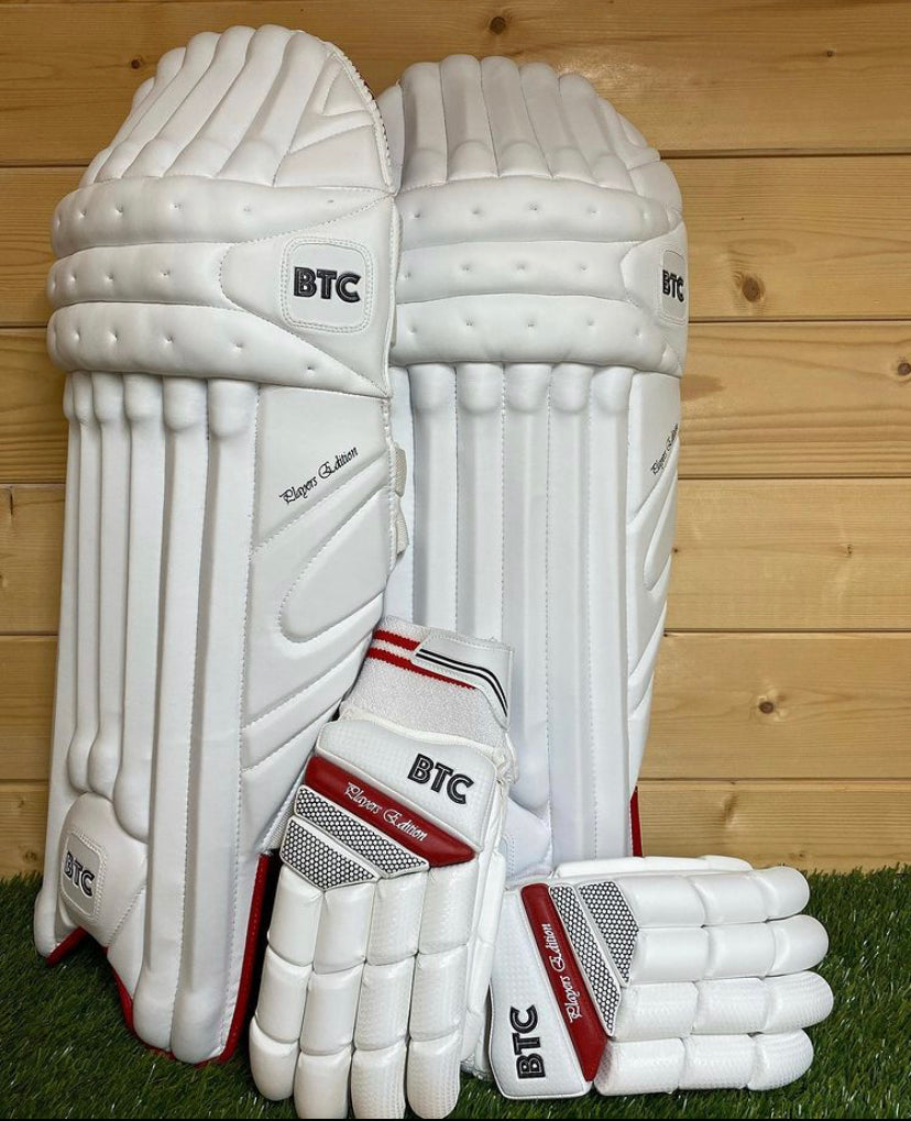BTC Players Edition Batting Pads & Gloves