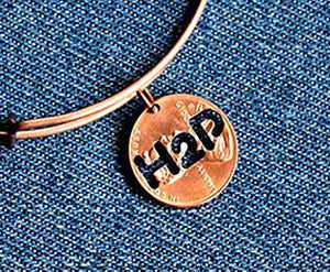 H2P Cut Penny Bangle